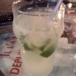 Cocktail d'aloe vera sans alcool